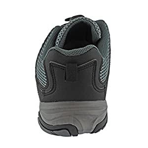 Rockin Footwear Mens Amphibious Athletic Hiking Swimming Water Shoe Aqua Sneaker, Black, 10 D(M) US