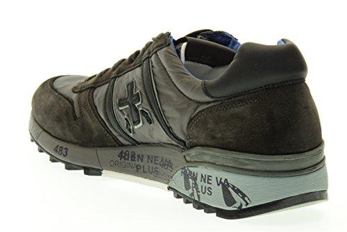PREMIATA uomo sneakers basse LANDER 1661 40 Marrone