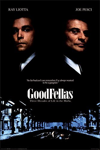 BEYONDTHEWALL® Archive Goodfellas One Sheet Classic Gangste