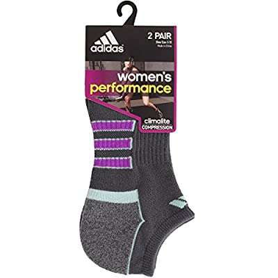 adidas Women's Climalite II No Show Sock (2-Pair)