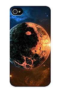 New Cute Funny Yin And Yang Planet Case Cover/ Iphone 4/4s Case Cover For Lovers