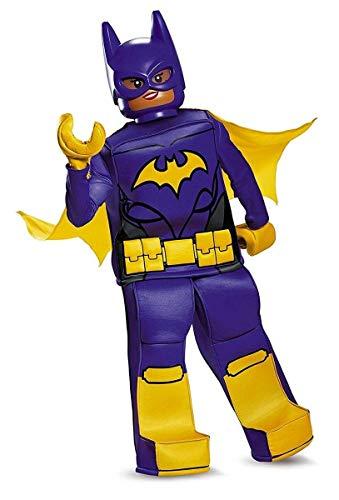 Batgirl LEGO Movie Prestige Costume, Purple, Large -