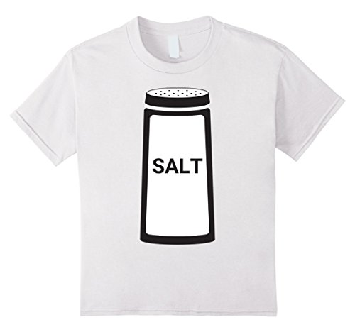 Homemade Halloween Costumes For A Couple - Kids Salt Shaker Funny Couples Halloween T-Shirt 12 White
