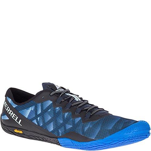 Merrell Vapor Glove 3 Men 9.5 Blue Sport (Rubber Sole Sandals Merrell)