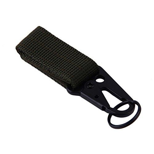 Backpack Carabiner Snap D Ring Clip Locking Tactical Hiking Camping Tool 01