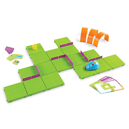 Image of the Learning Resources Code & Go Robot Mouse Activity Set, 83 Pieces