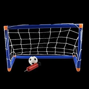 New Kids Children Mini Football Soccer Goal Post Set Indoor Outdoor Nets  Ball Shopmonk