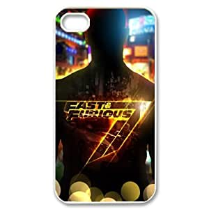 Furious 7 FG0020788 Phone Back Case Customized Art Print Design Hard Shell Protection Iphone 4,4S