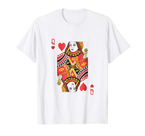 Queen of Hearts Shirt Easy Family Halloween Costumes -