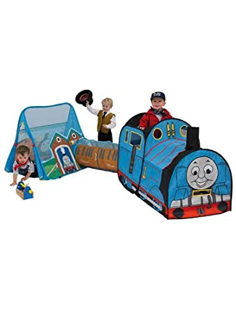 Thomas the Tank Engine Pop Up Play Tent Train and Tunnel Combo  sc 1 st  Amazon UK & Thomas the Tank Engine Pop Up Play Tent Train and Tunnel Combo ...