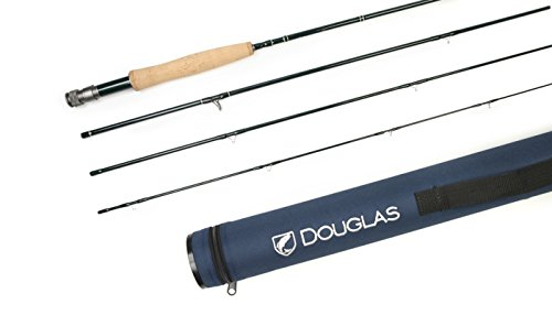 Douglas Outdoors DHF Fly Rods 3 piece & 4 piece (9' #5 4pc) (Piece 5wt 3)