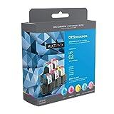 Office Depot Brand OM99906 (HP 02/C8771WN/C8772WN/C8773WN/C8774WN/C8775WN) Remanufactured Multicolor Inkjet Cartridges