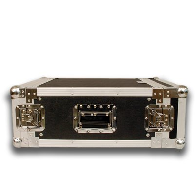 Seismic Audio - 4 SPACE RACK CASE for Amp Effect Mixer PA/DJ PRO Audio by Seismic Audio (Image #1)