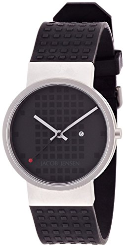 JACOB JENSEN Watch Clear 412 Men's [regular imported goods]