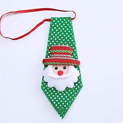 LanLan Accesorios de decoración de Navidad, Corbata Ajustable ...