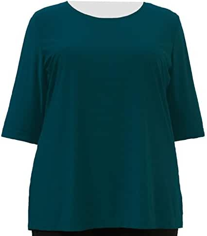 A Personal Touch Women's Plus Size Alpine Green Top