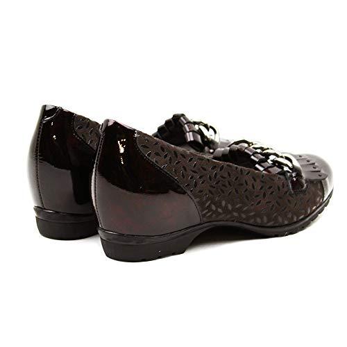 Detalle Cadena Mujer Pitillos Mocasín Marrón 3811 Zapato Pq0f4