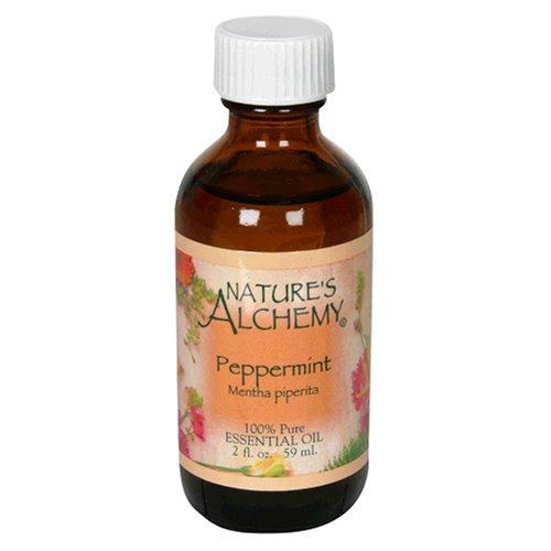 Nature's Alchemy Essentials Oil, Peppermint (Mentha Piperita), 2-Ounce Bottle