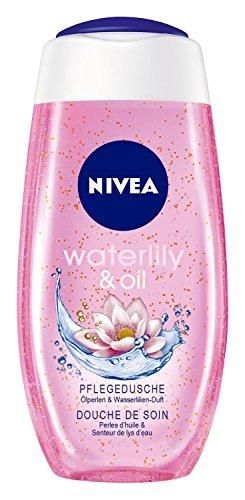 Nivea Waterlily & Oil Pflegedusche, Duschgel, 4er Pack (4 x 250 ml)