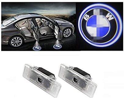 Luce di benvenuto 1 coppie di luci di cortesia a LED Installazione facile Porta di automobile Proiettore laser Logo Luci fantasma ombra