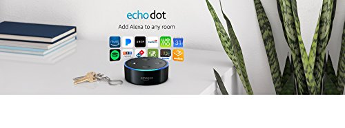 Echo Dot (2nd Generation) - Smart speaker with Alexa - Black 3