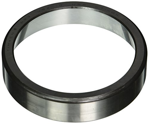 Timken 653 Tapered Roller Bearing Outer Race Cup, Steel, Inch, 5.750