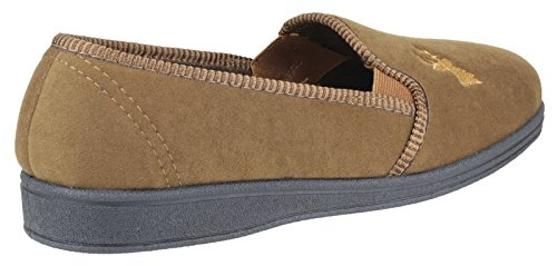 on Pantofole Slipper Stag Mirak Slip Tan Da Uomo wBxr1XB