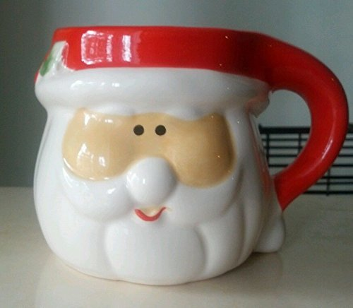 Santa Claus 14oz. Ceramic Coffee Cup by Merry Brite ()