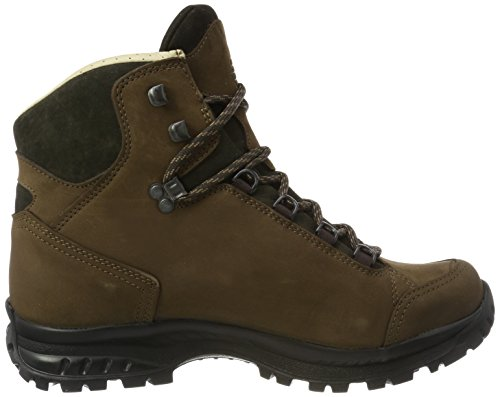 Hanwag Women's High GTX Bunion Shoes Lady Rise Alta Hiking Brown Erde FF1dwqr