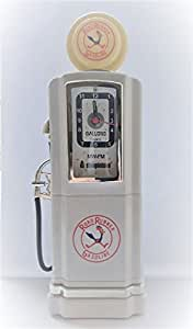 Steepletone 50's style Gas Pump Analoge Alarm Clock Radio by Steepletone