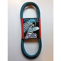 """D&D PowerDrive ORB-H-1070 John Deere GX20072, GY20570 Kevlar Replacement Belt, 12"""" x 103"""", 4LK Section, Rubber"""