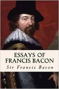 Francis bacon essays audio