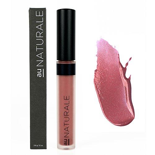 Au Naturale Vegan Organic Lip Gloss in Passion Fruit | Made in the USA | Organic | Vegan | -