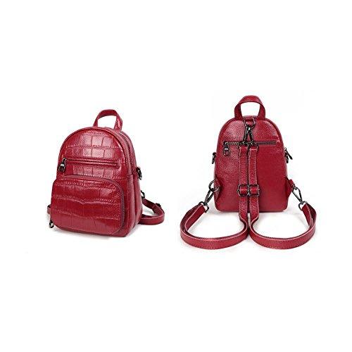 Einfach Mode, Süßes Mädchen College - Rucksack, 19 * 10 * 23Cm,Schwarz Des