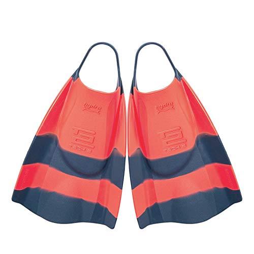Hydro Tech 2 Surf Swimfins - Tang/Navy - L