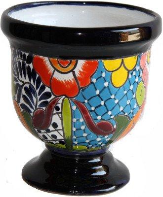 (Fine Crafts Imports Abasolo Talavera Mexican Ceramic Pot)