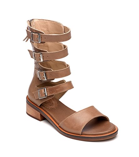 Latigo Wood Brown - Latigo HAIKU Women's Sandals Cocoa Size 8.5 M (LA11083)