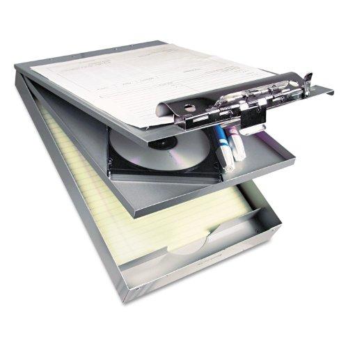 Saunders 21017 Cruiser Mate Aluminum Storage Clipboard 1 1/2-Inch Clip Cap 8 1/2 x 12 Silver