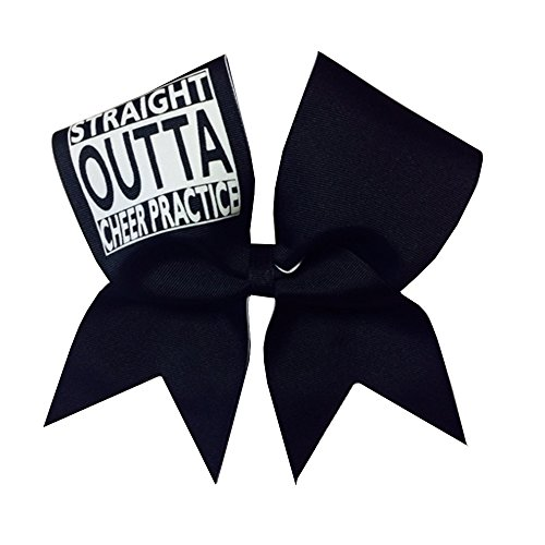 Chosen Bows Straight Outta Cheer Practice Bow