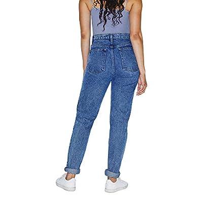 American Apparel Women's High-Waist Jean: Clothing