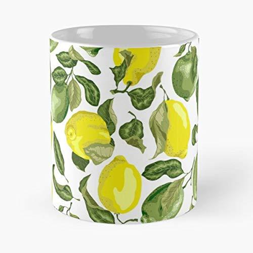 Lime Limes Lemon Vector Mugs Best Gift ()