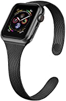 SIRUIBO Compatible for Apple Watch Band with Screen Protector 38mm 40mm 42mm 44mm, Soft TPU Frame Case Cover Bumper for...