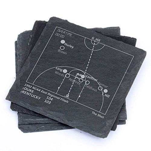 Duke Greatest Plays - Slate Coasters (Set of 4) ()