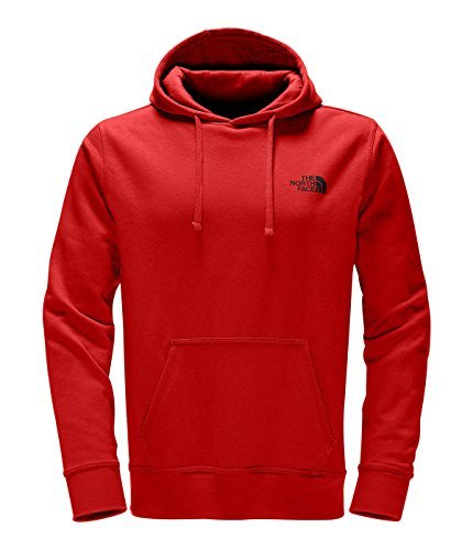 The North Face Men's Half Dome Red Box Pullover Hoodie,TNF Red/TNF Black, Large
