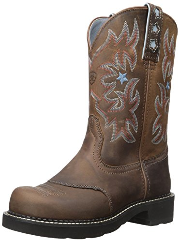Probaby Western 10 Boots - Ariat Women's Probaby Work Boot, Driftwood Brown, 10 B US
