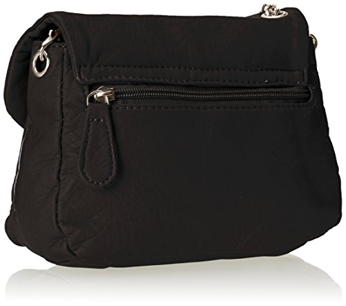 Wild Cross Black Body Closure Turnlock Bag Pair With r4Azwrq