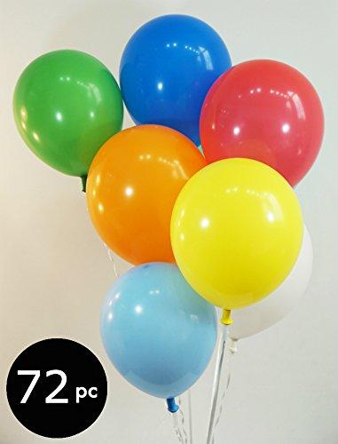 [해외]풍선 가방 - 72 캐럿. /Bag of Balloons - 72 ct. Assorted Color Latex Balloons
