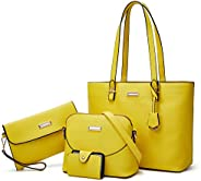 YNIQUE Purses and Handbags for Women Satchel Shoulder Tote Bags Wallets