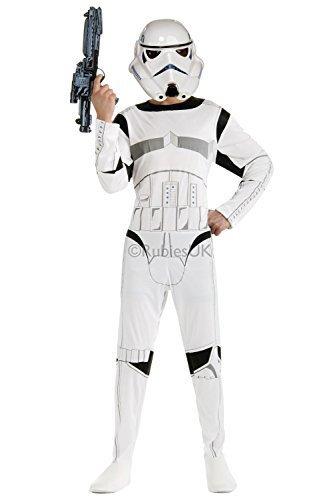 Hombre Star Wars Soldado Imperial Disfraz Rubies Original ...