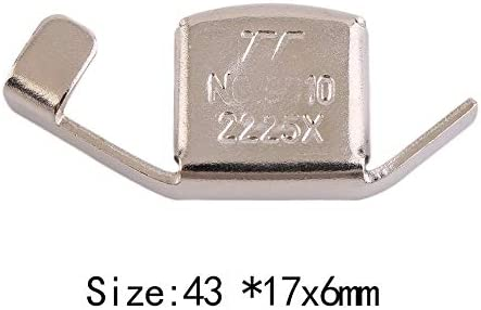 fgjhfghfjghj Universal Metal Magnetic Seam Guide Press Feet for Sewing Machines DIY Crafts Foot Parts Household Tool